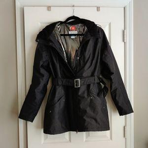 Columbia OmniHeat belted winter coat Size XL
